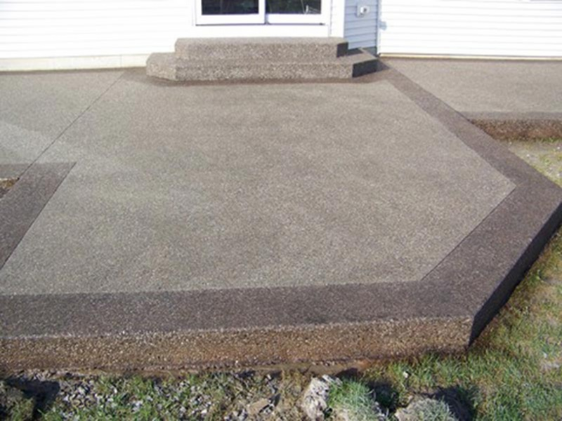 Stamped Concrete Driveways Patios Foundations