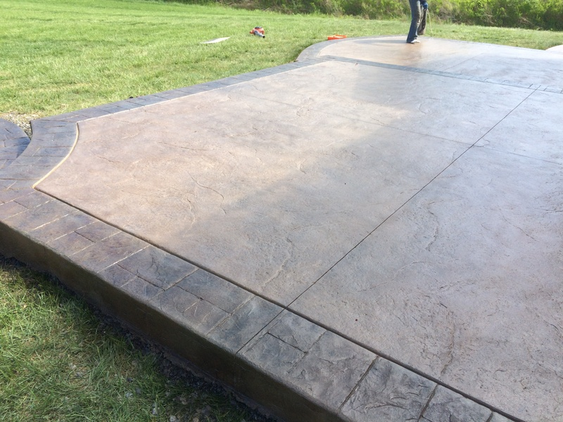Stamped Concrete Driveways Patios Foundations Decorative Concrete